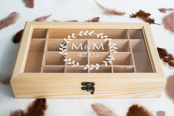 Jewelry storage - Handmade decoration modern Jewelry Box    - GlobalWedding