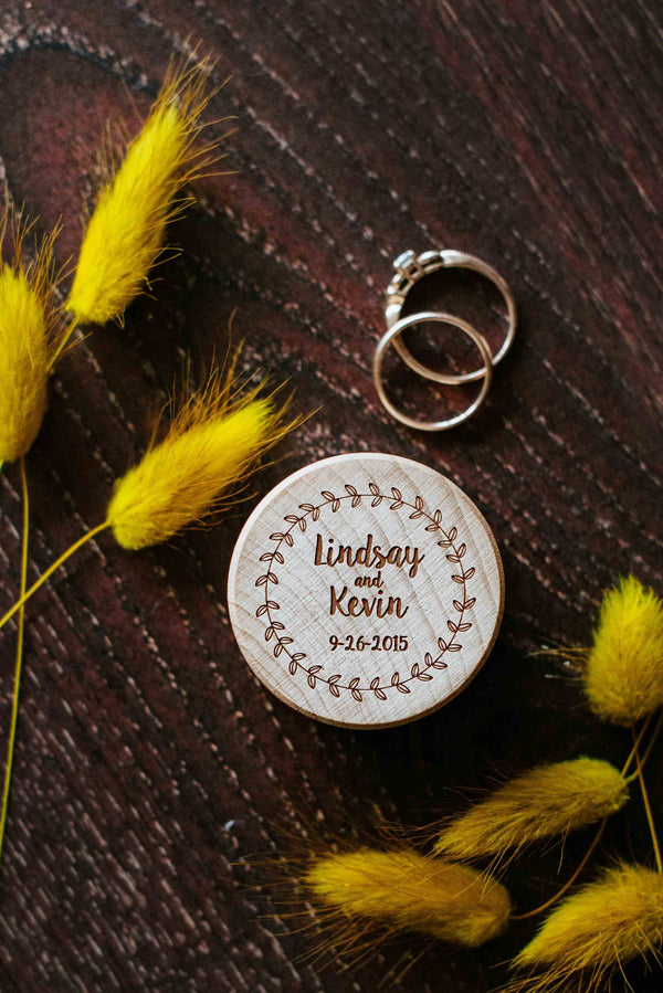 Proposal Engagement Wooden Ring bearer Box