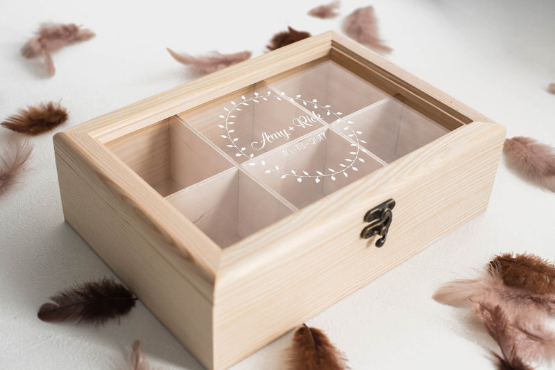 Personalized Decoration Glass Jewelry Box
