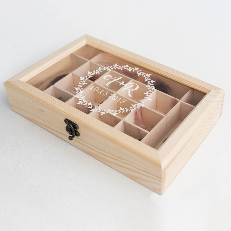 Engraved Handmade Jewelry Box    - MatchMadeAbroad