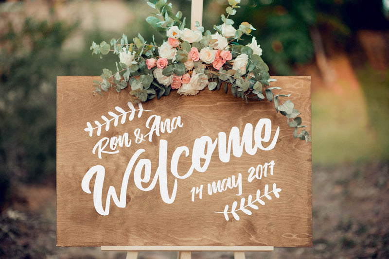 Bridal Shower Wooden Sign    - GlobalWedding