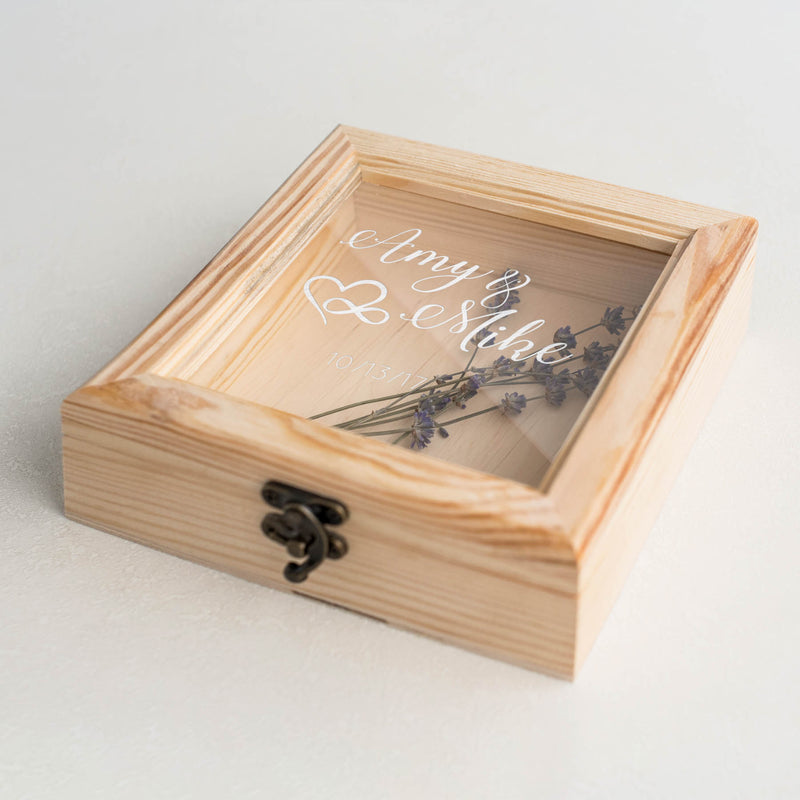 Custom Vintage Glass Decoration Jewellery Box    - GlobalWedding
