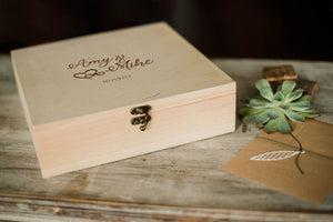 Custom Large Decoration Jewelry Box    - GlobalWedding