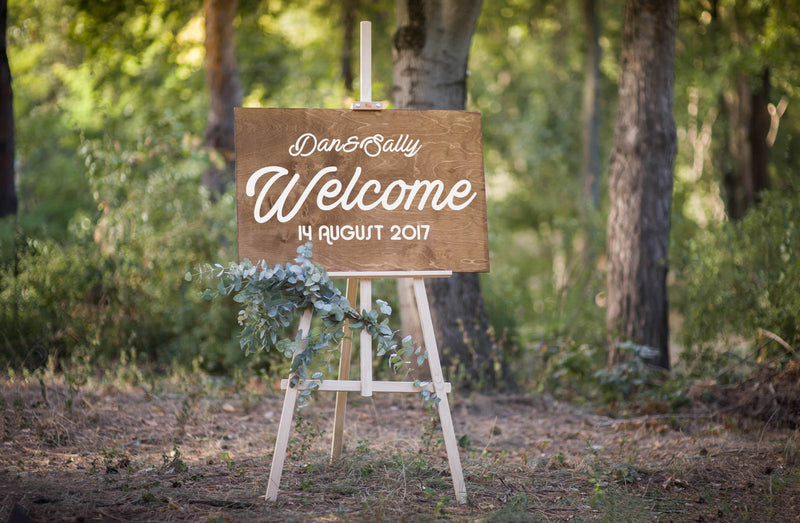 Custom Welcome Shower Sign    - GlobalWedding