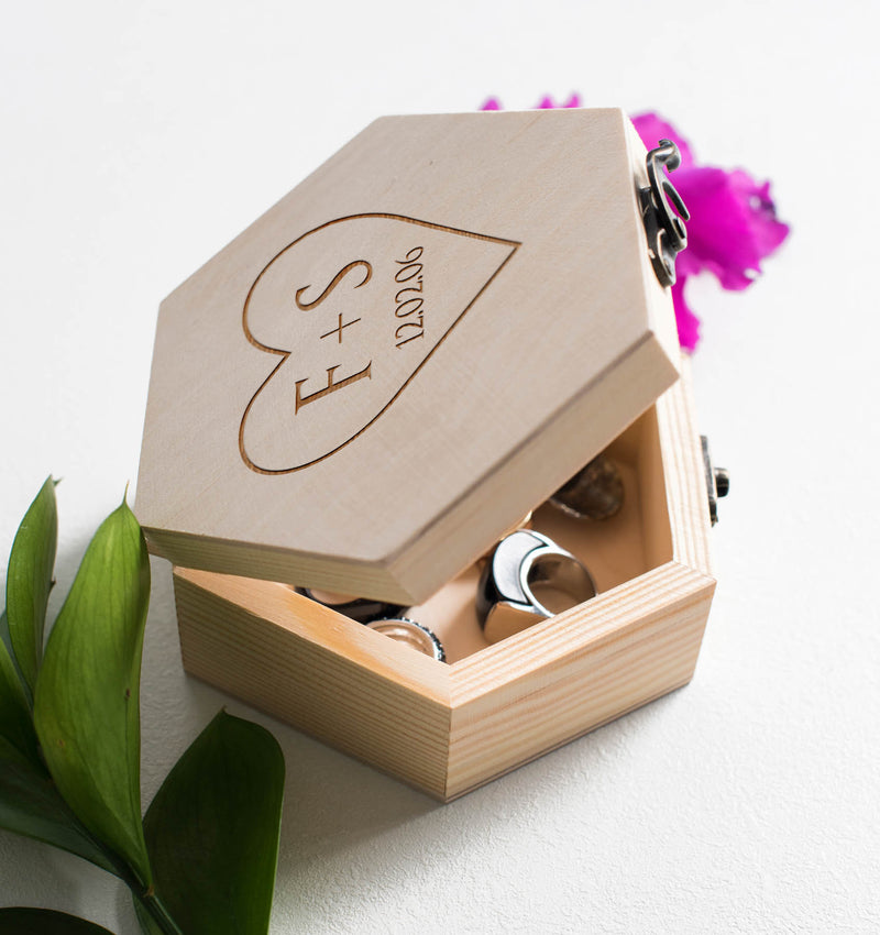 Elegant Wood Jewelry Box    - GlobalWedding