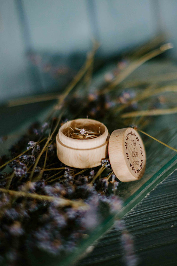 Proposal Jewelry Handmade Ring Bearer Box