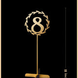 Table Numbers Design Second