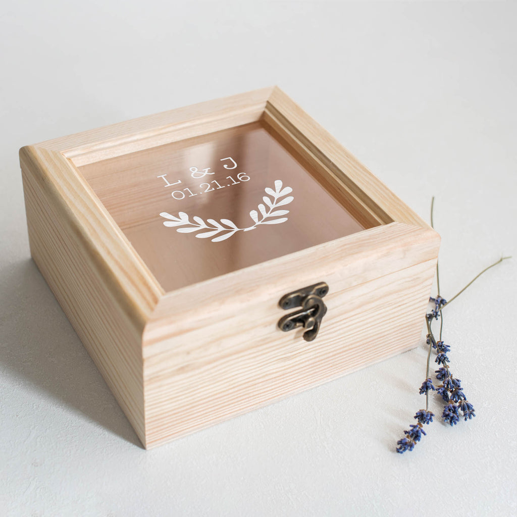 Custom Personalized Jewelry Box    - GlobalWedding