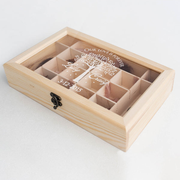 Wood Modern Handmade Jewelry Box