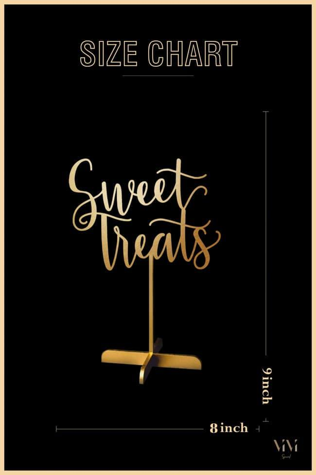 Sweet Treats - Table Sign