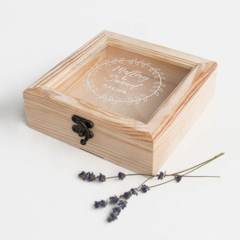 Geometric Custom Modern Decoration Jewelry Box    - GlobalWedding
