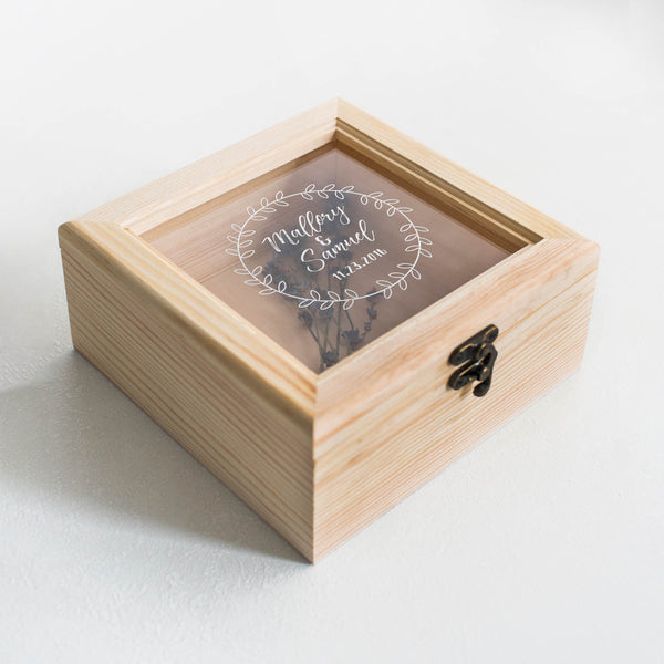 Rustic Decoration Jewelry Box