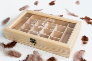Geometric Elegant Jewelry Box    - GlobalWedding
