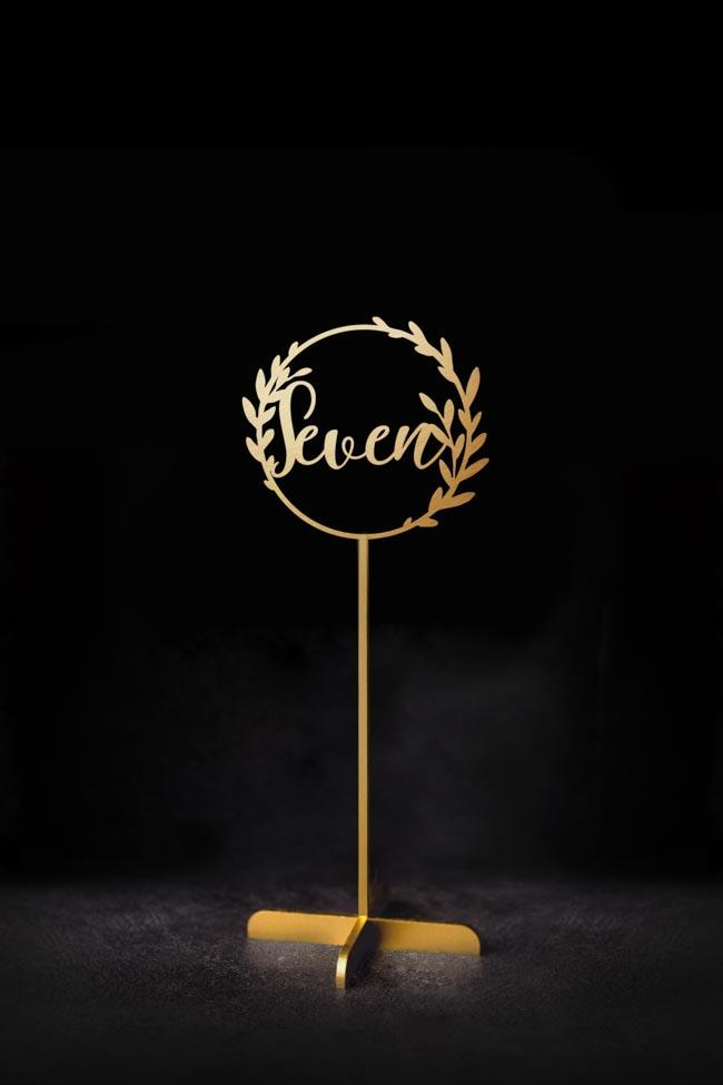 Table Numbers Design One