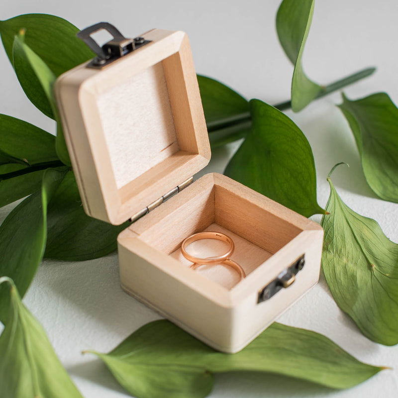 Personalised Keepsake Wedding Ring Holder