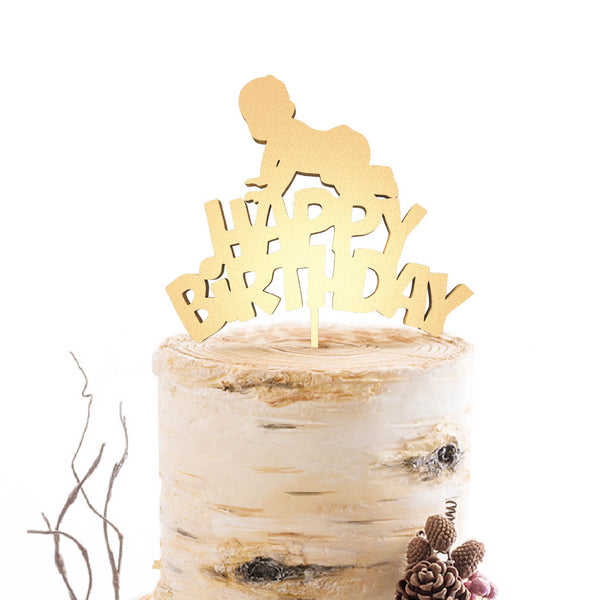 Birthday cake topper  Birthday Cake Topper  - GlobalWedding