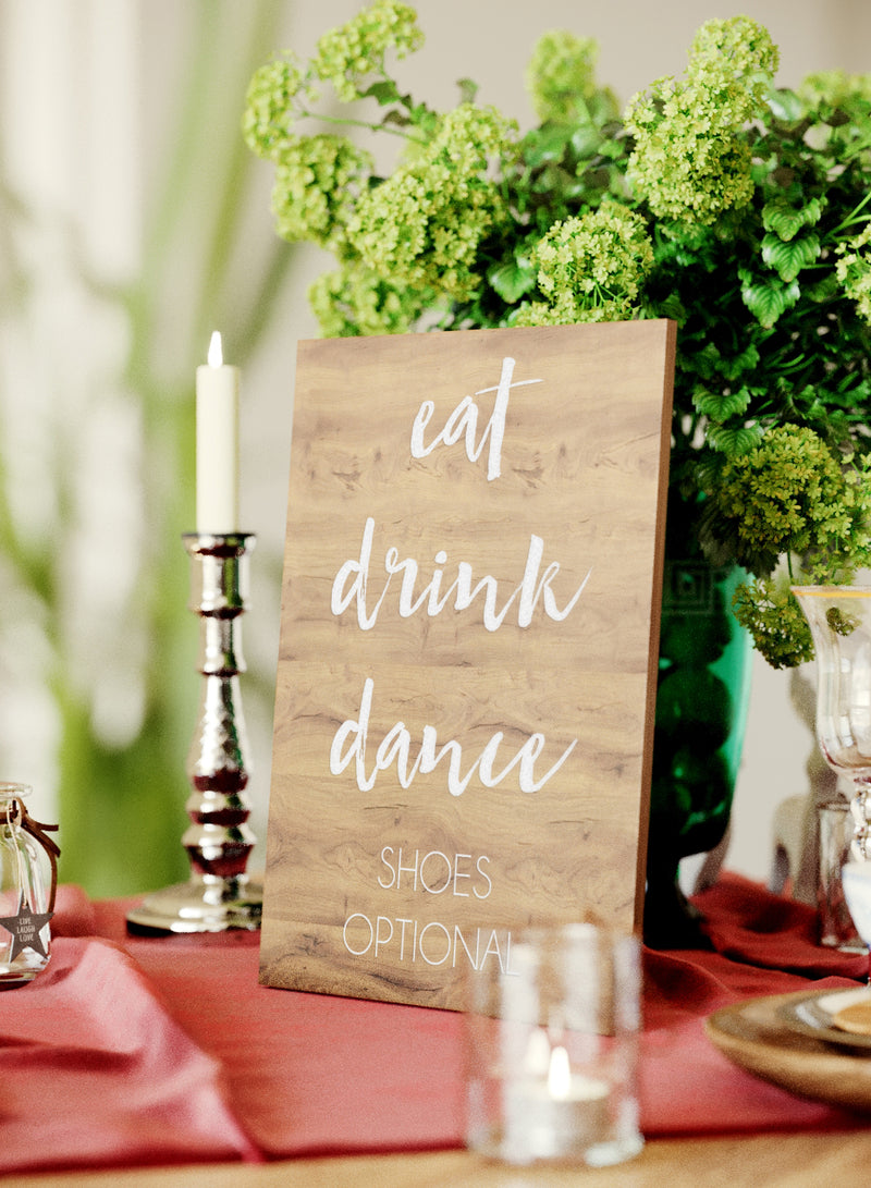 Engraved Light Handmade Wedding Sign    - GlobalWedding