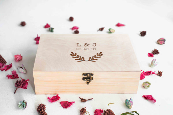 Unique Personalized Wood Jewelry Box