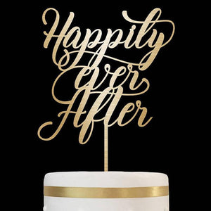 Happily Ever After - Cake Topper