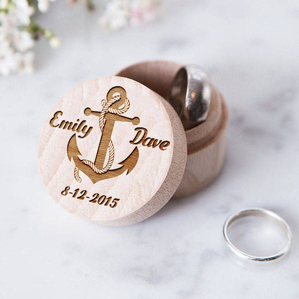 Engagement Ring Box  Ring Box  - GlobalWedding