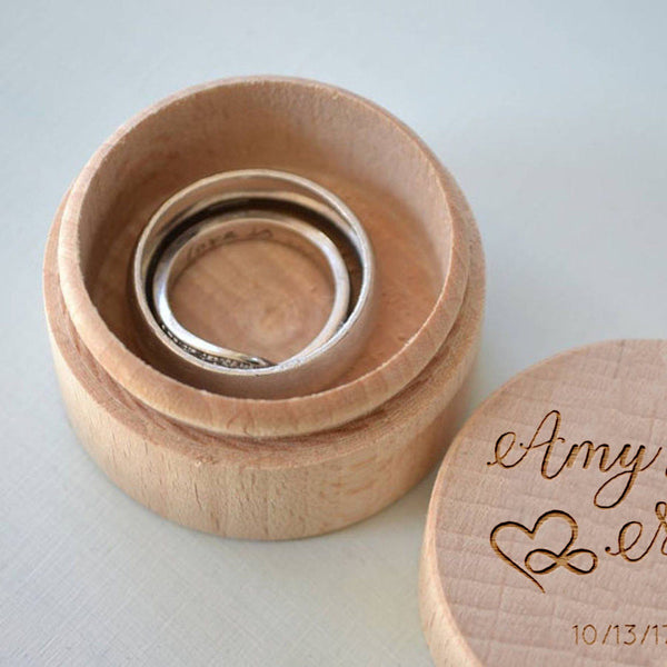 Engagement Ring Box  Ring Box  - MatchMadeAbroad