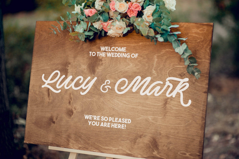 Welcome Sign - Welcome Wedding Sign