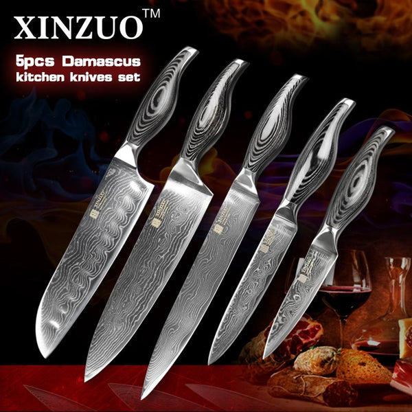 5 Pcs. Kitchen Knife Set - ZMN Series