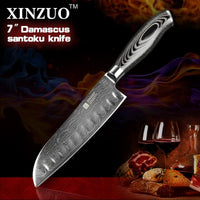 "7"" Santoku Chef Knife - Ya Series"