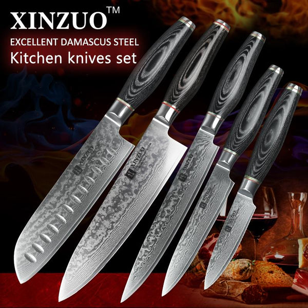 5 Pcs. Kitchen Knife Set - Li Series