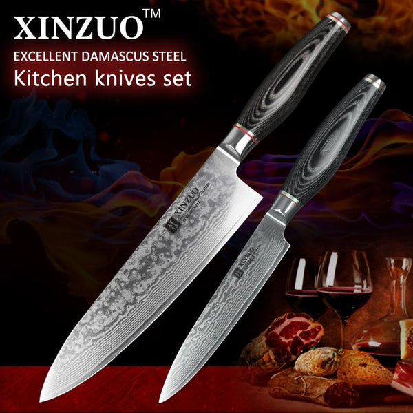 2 Pcs. Kitchen Knife Set - Li Series