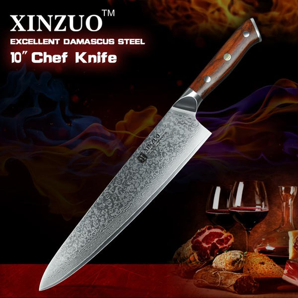 "10"" Gyutou Chef Knife - Yu Series"