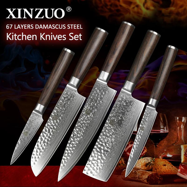 5 Pcs. Kitchen Knife Set - HE Series