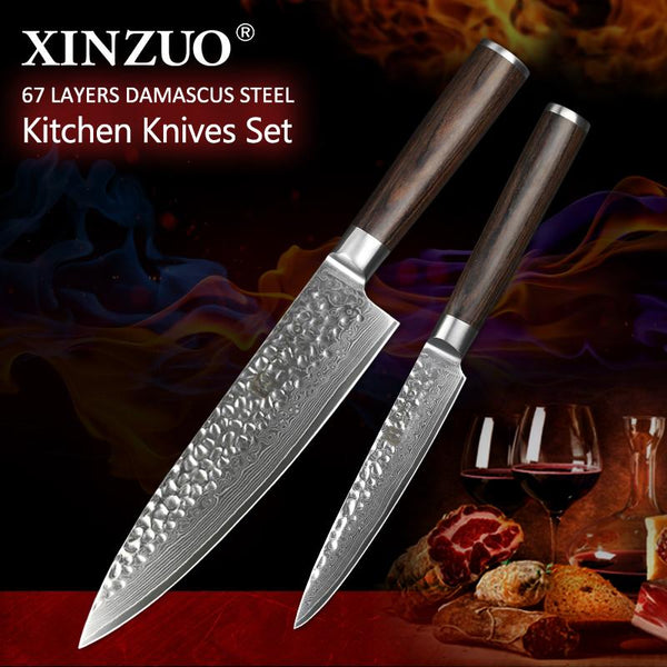 2 Pcs. Kitchen Knife Set - HE Series