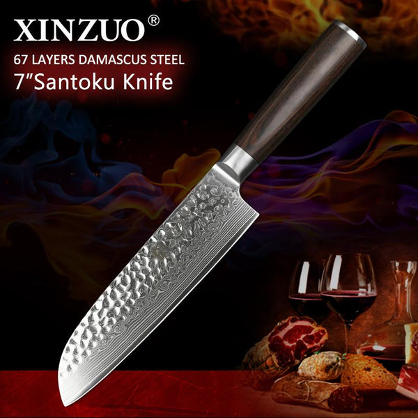"7"" Santoku Chef Knife - HE Series"