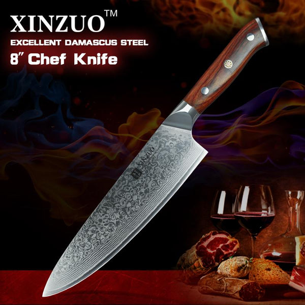 "8"" Chef Knife - Yu Series"