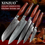 5 Pcs. Kitchen Knife Set - Li-red Series