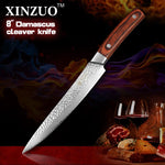 "8"" Cleaver Knife - Pin Series - MyMidoShop"