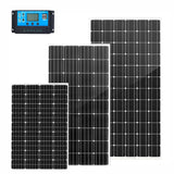 130/200/250W Rigid Solar Panel with Controller