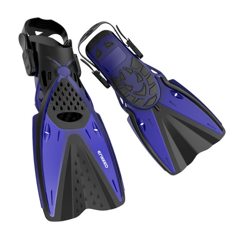 Snorkeling Flippers - Beach - Blue,Black