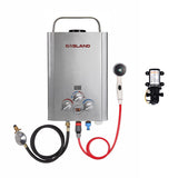 Portable Gas Hot Water Heater with Pump