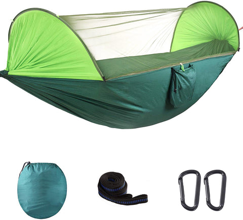 Tunnel Hammock with Mosquito Net