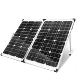 Folding Solar Panels Kit 160W with Regulator