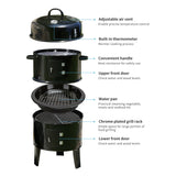 Portable Charcoal Smoker and BBQ