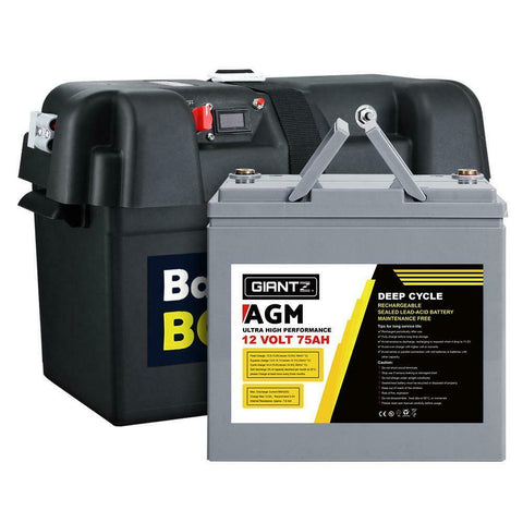 AGM Battery with Box