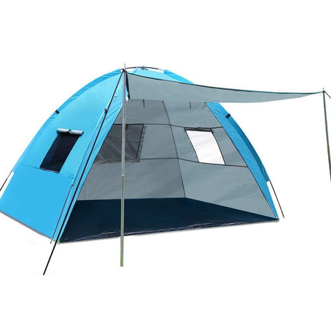 Family Beach Tent with Awning,   Beach  -  OnTrack Outdoor