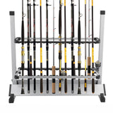 Fishing Rod Rack for 24 Rods - Fishing - Default Title