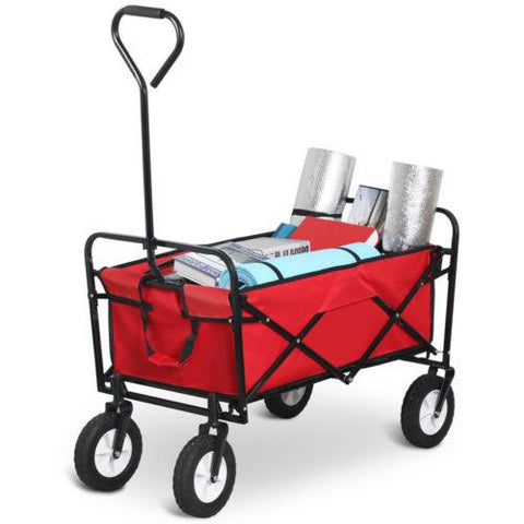 Folding Beach Trolley - Beach - blue,red,olive,black (new model)
