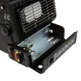 Portable Gas Heater - Winter - black,red