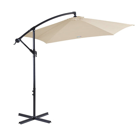 Outdoor Umbrella - Garden - Beige,Black