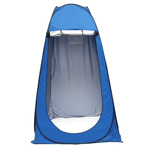 Pop-up Shower or Toilet Tent - Shower - Blue,Green